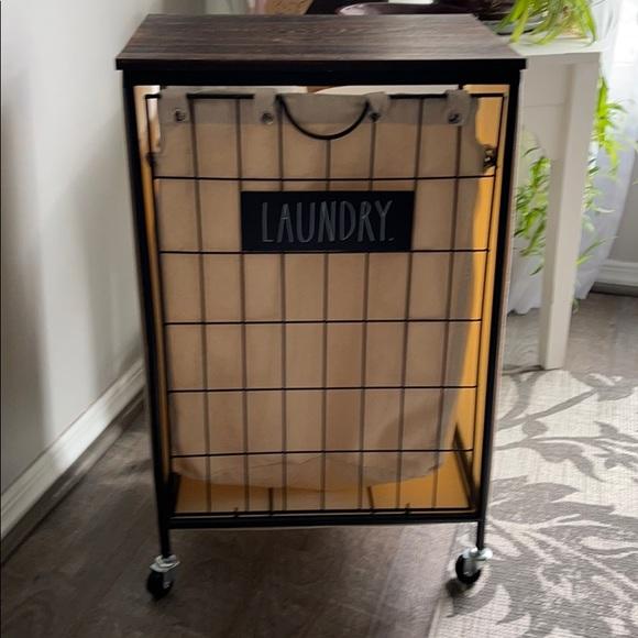 Rae Dunn laundry basket (last price drop)